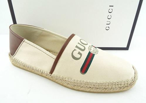 GUCCI GG Logo Slip-on Espadrille Men 14US/UK13