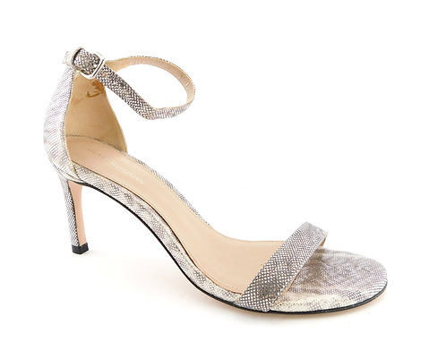 STUART WEITZMAN Shimmer Strap Pump Heel Sandal 6.5