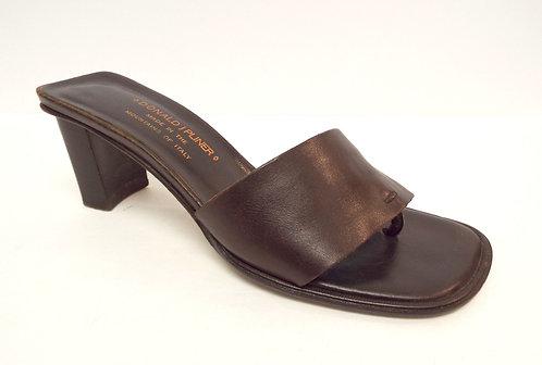 DONALD PLINER Brown TRISTA Slide Sandal