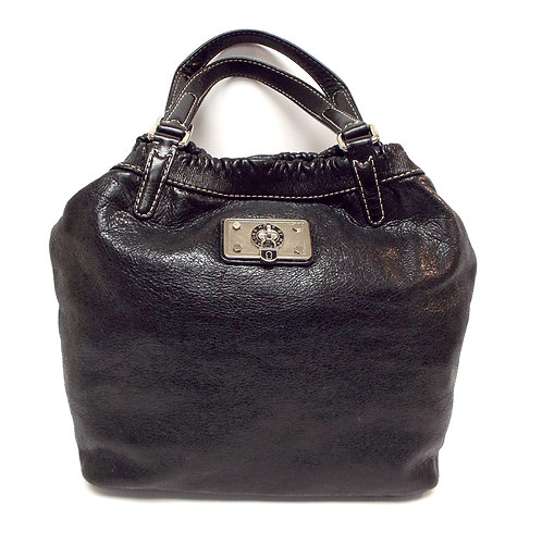 MARC by MARC JACOBS Black Hobo Tote Leather Bag