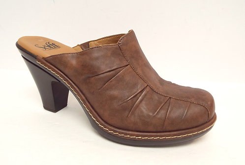SOFFT Brown Leather Mule