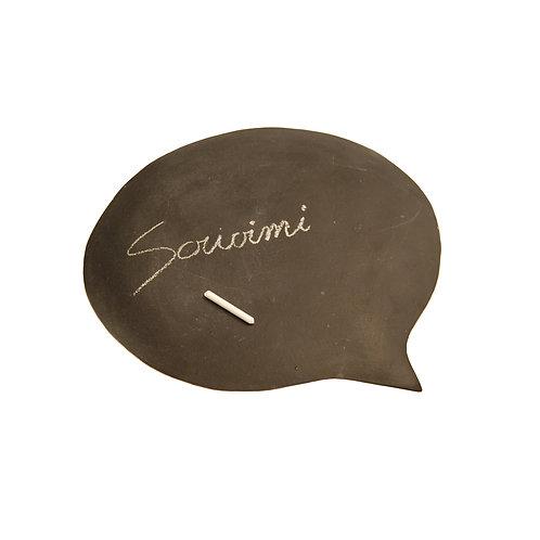 "SCRIVIMI table base ""artwork"""