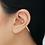 Thumbnail: Épée diamants boucle d'oreille Maria TASH