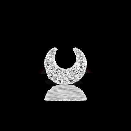 "Bijou ""Lune d'Or blanc "" - Maria TASH"