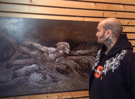 Du dessin au tatouage, en passant par la peinture.