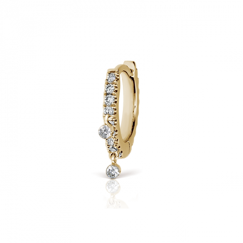 Anneau Eternity 2 diamants pendants - Maria TASH
