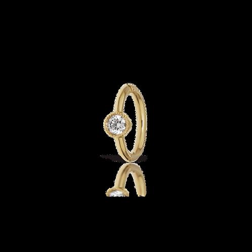 """Anneau alliance """"diamond"""" 5mm - Maria TASH"""