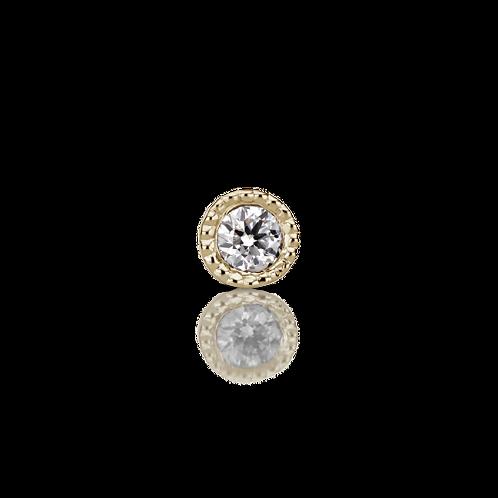 Diamant simple serti  - Maria Tash
