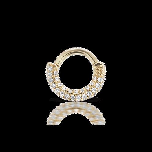 "Anneau 5mm ""pavé de Diamants"" - Maria TASH"