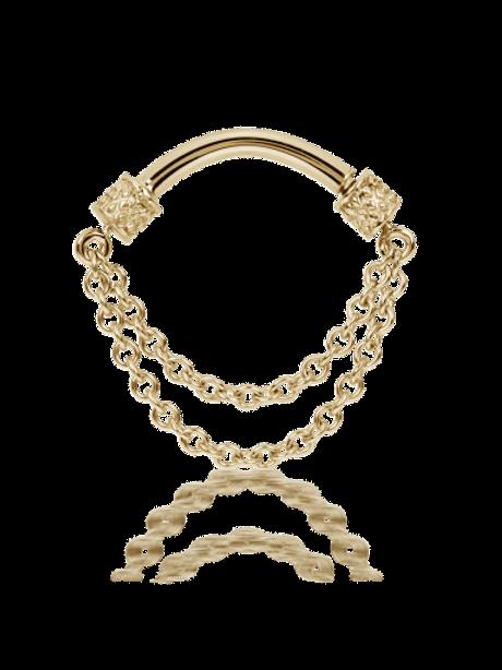 Bijou double chainettes Spinner Maria TASH