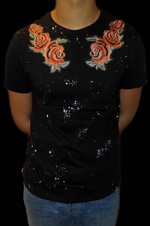 "T-shirt ""Roses"" Homme"