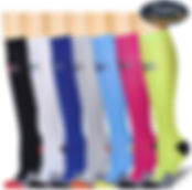 7 Pairs Compression Socks For Women and Men - Best Medical,for Running, Athletic, Varicose Veins, Travel.