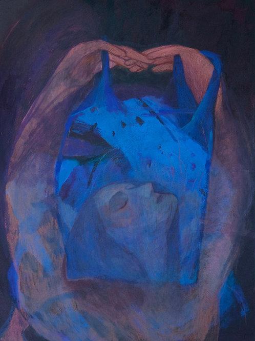 Cobalt Blue Bag by Lindsey Jean McLean