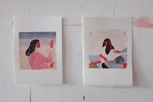 Bobbye Fermie Artist Focus Wilder Gallery Studio shot.JPG