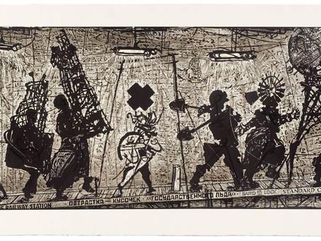 William Kentridge 'Eight Figures'