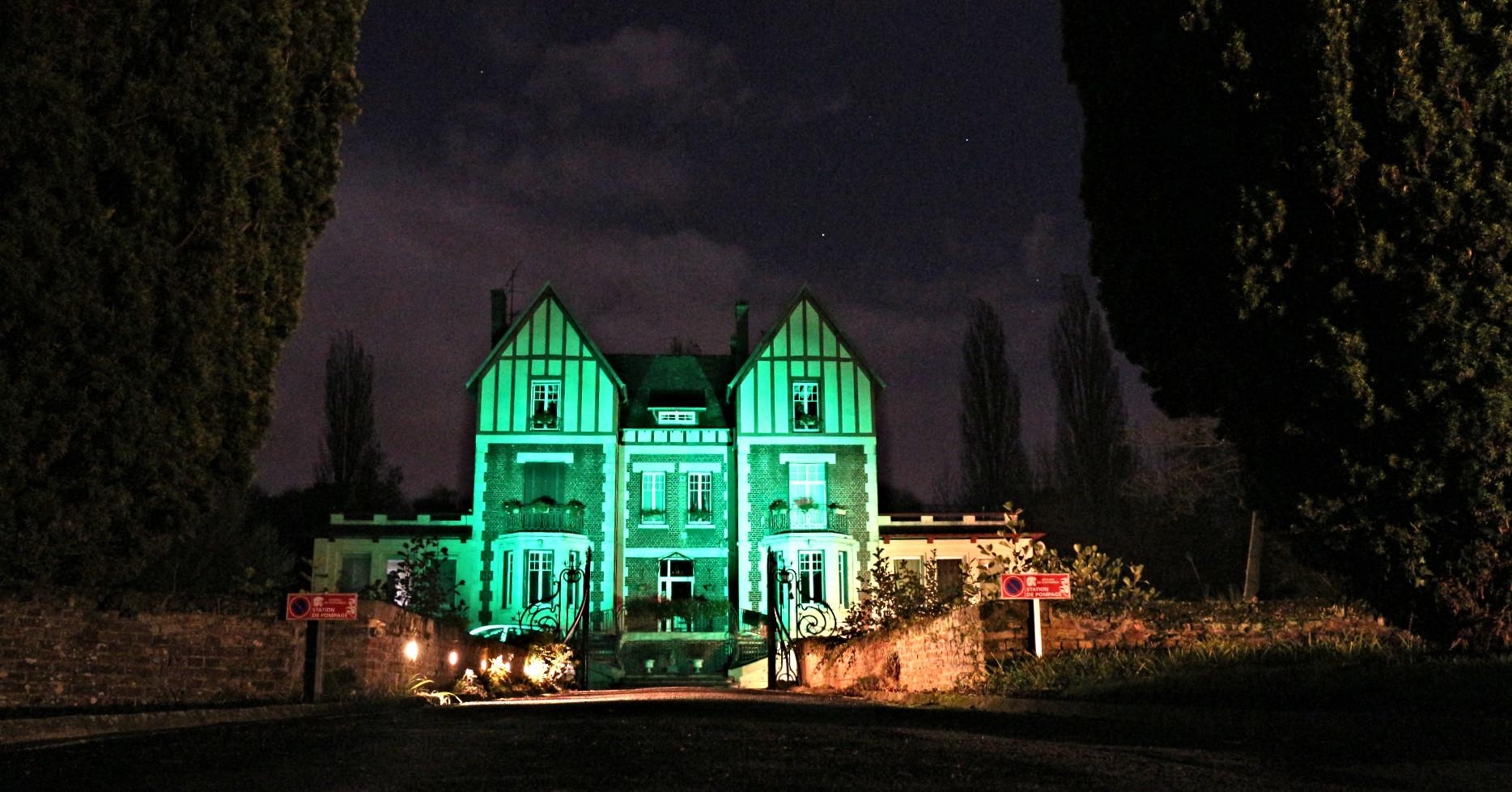 Château de nuit mariage