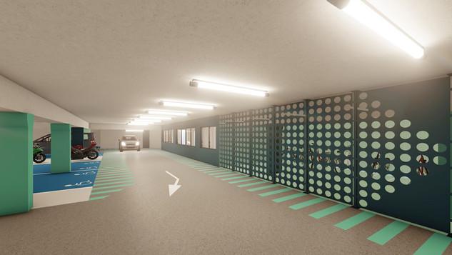 Réhabilitation - Parking souterrain