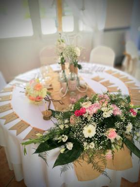 Mariage - réception - vintage