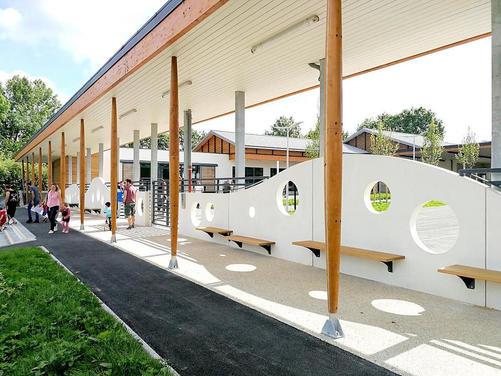 Entrée école Gueschart - Ponthieu-Marquenterre