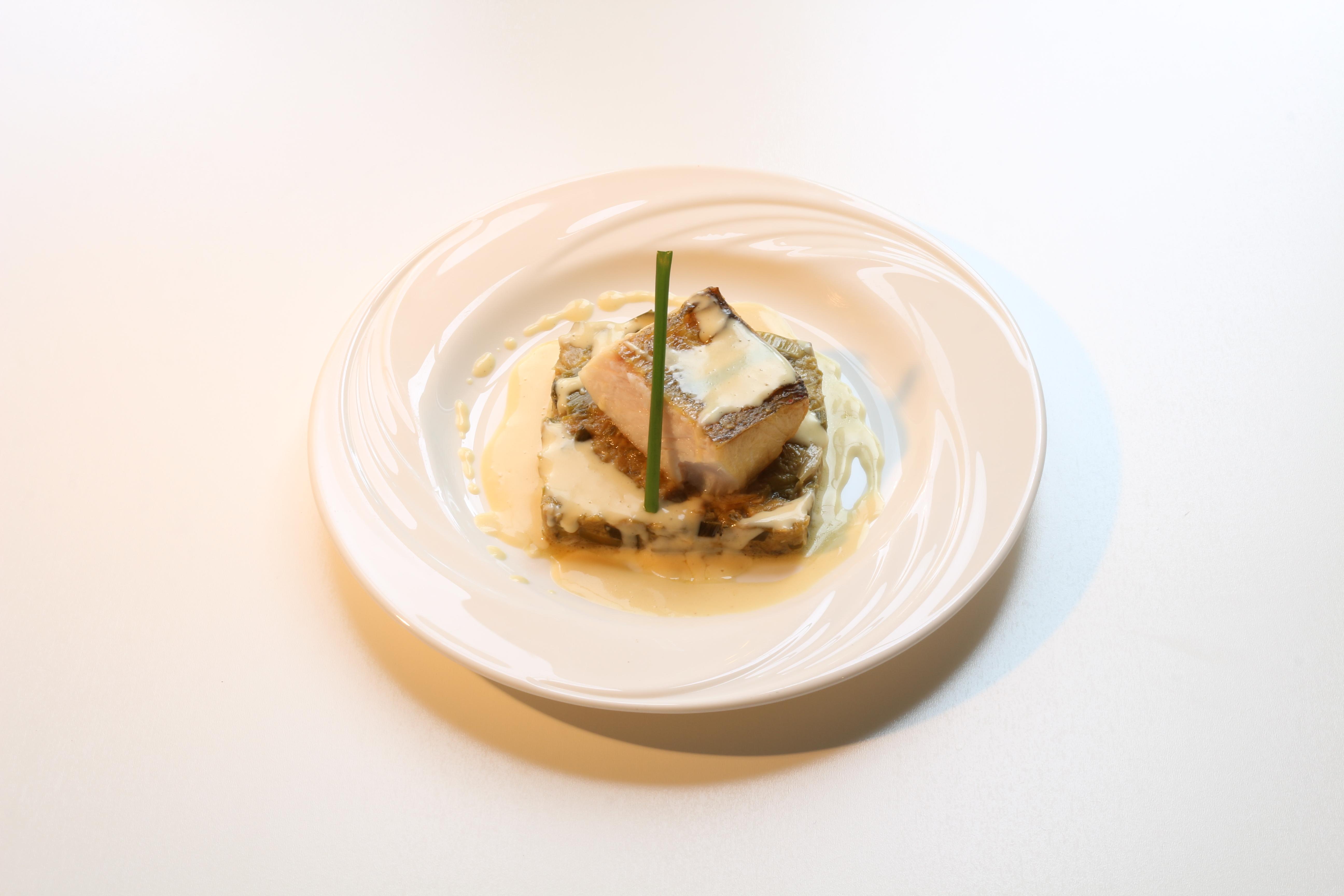 Filet de sandre au beurre blanc