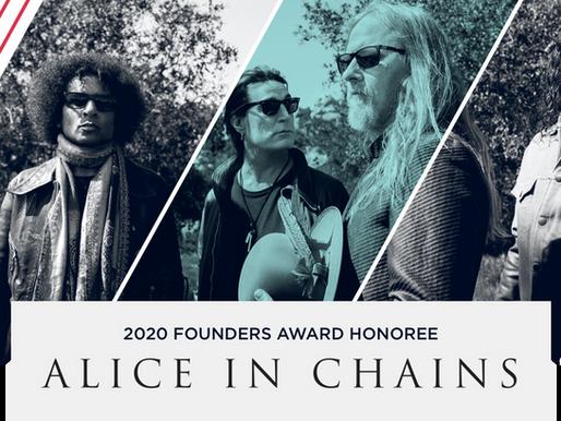Metallica, Korn, Corey Taylor + Alice in Chains MoPOP Kurucuları Ödül Etkinliği