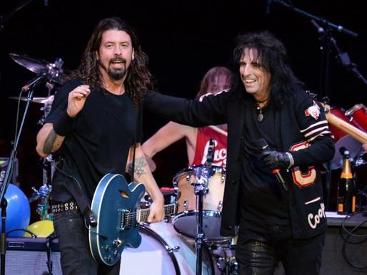 Alice Cooper, Foo Fighters sevgisinden bahsetti