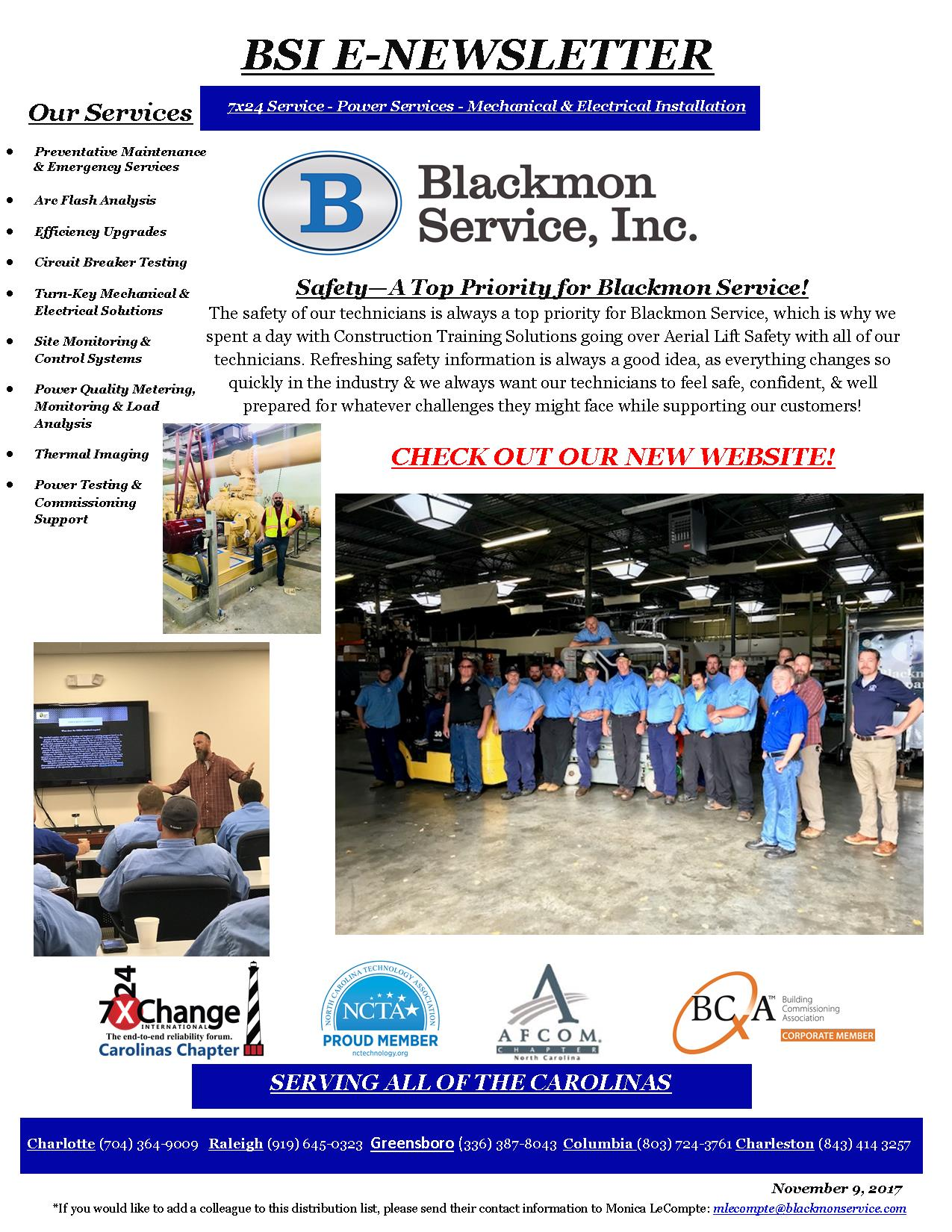 Blackmon E-Newsletter