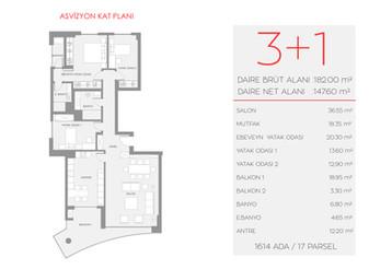 Asvizyon A2 Blok - Zemin Kat No:2