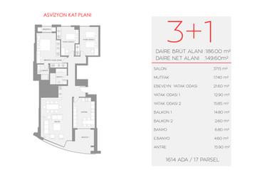 Asvizyon E1 Blok - Zemin Kat No:2