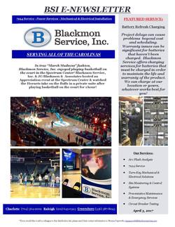 Blackmon E-NewsletterBlackmon E-News