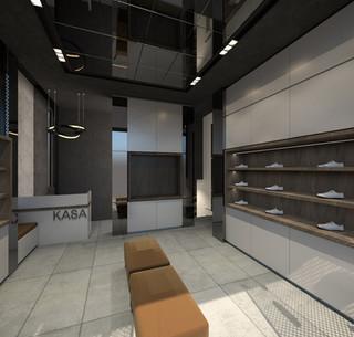 Ayakkabı Mağazası Cephe ve İç Mimari Tasarımı