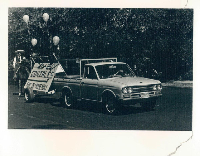 My Tio's Grassroots campaign in 1972