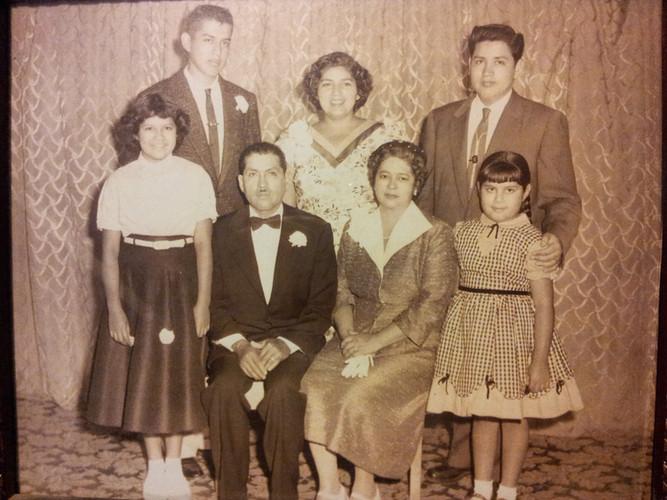 My grandad and his parents/siblings