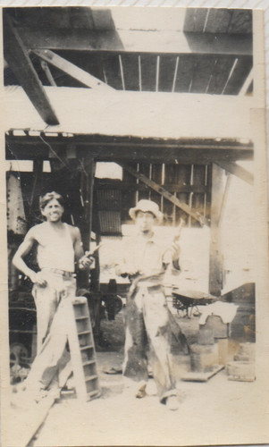 My great grandfather who was a carpenter