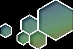 hexagonal holes graphic