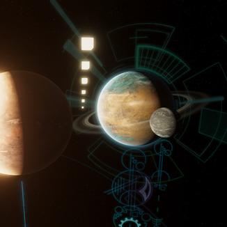Planet Sim Interface Design