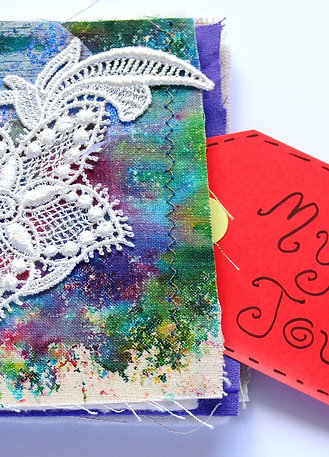 My Stitch Journal Lace Flower