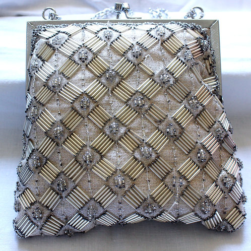 Spangle Vintage Beaded Purse