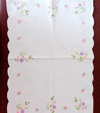 Flora- Vintage Tray cloth