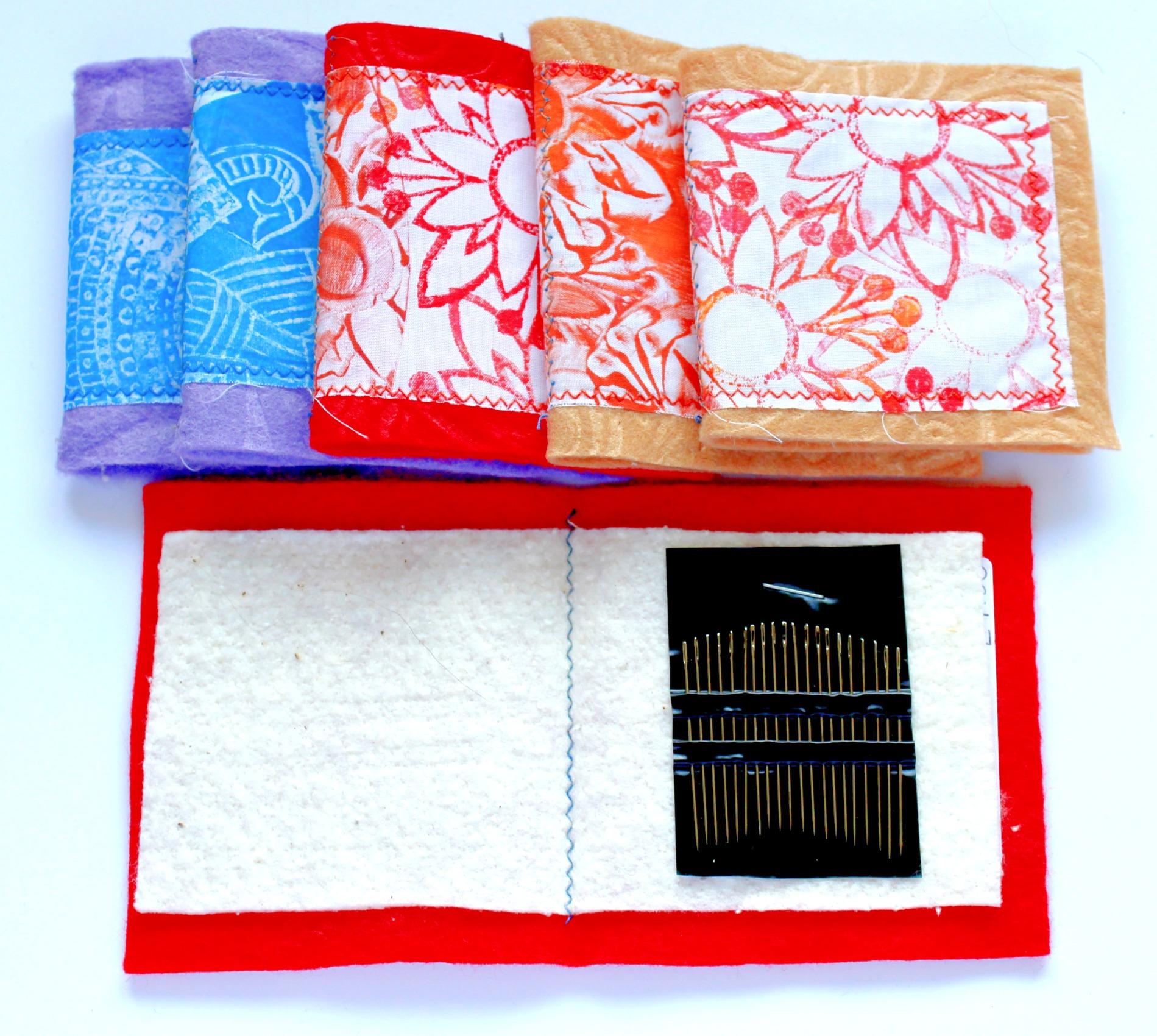 Needles in a case