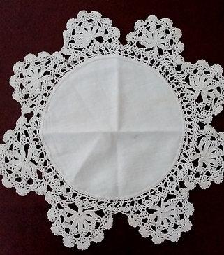 Kay-Vintage lace doily