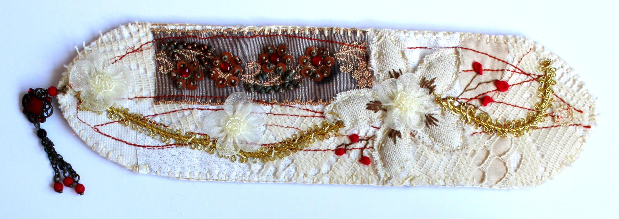 Scrappy Fabric Bracelet Mo