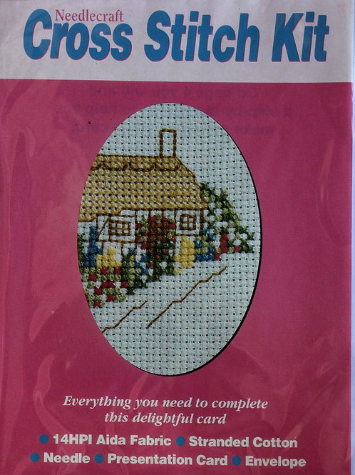 Cross Stitch Kit Cottage