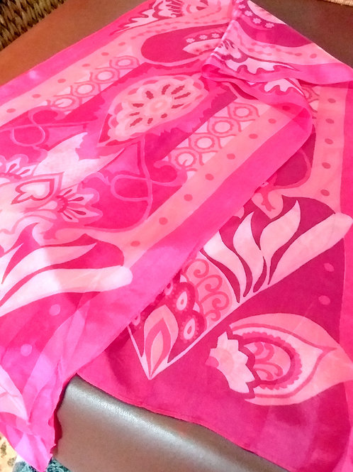 Vintage Silk Pucci Style Scarfe