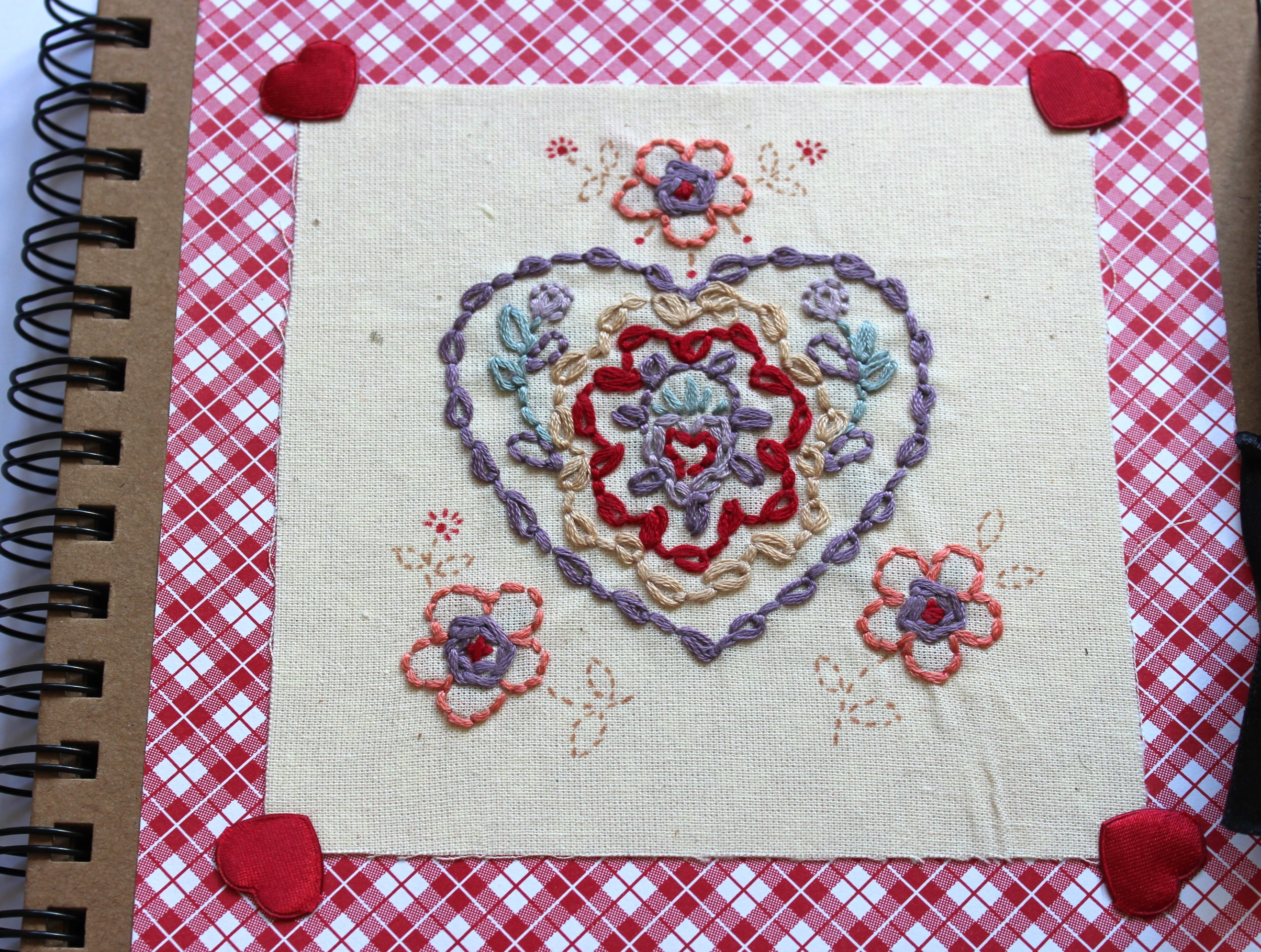 Hungarian Embroidered Journal