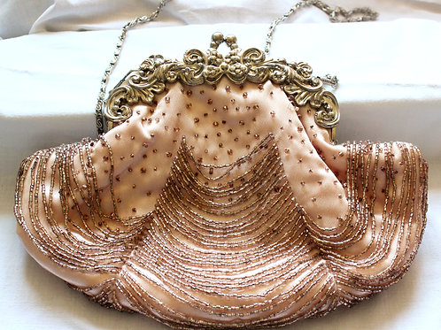 Oyster Shell Clutch Bag