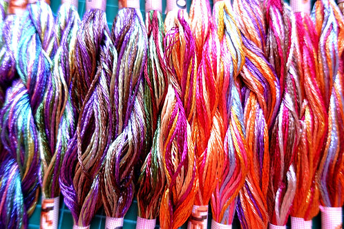 3 for 2 Silk Embroidery Threads Offer