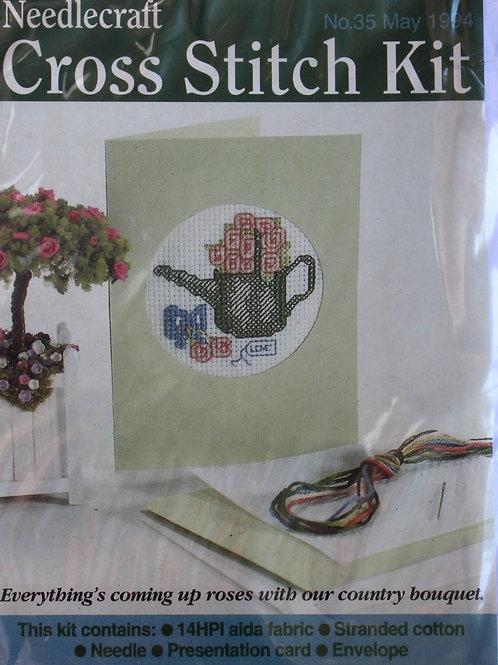 Cross Stitch Kit Garden