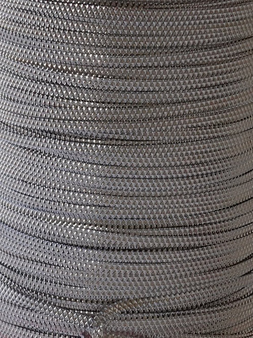 Silver Pattern Metal Flat Thread