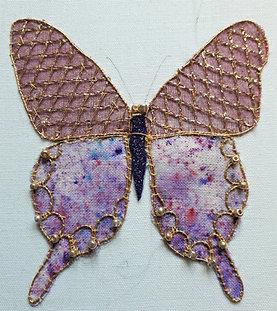 Asian Butterfly Pattern